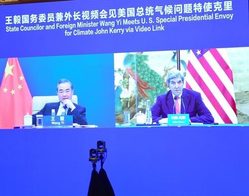 中国高官接连视频见克里美媒中方警告中美关系不佳将伤害两国气候合作